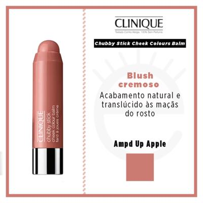 Imagem 4 do produto Chubby Stick Cheek Colours Balm Clinique - Blush - Ampd Up Apple