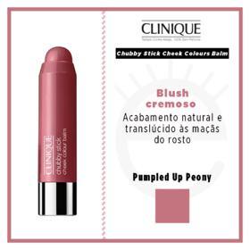 Chubby Stick Cheek Colours Balm Clinique - Blush - Pumpled Up Peony
