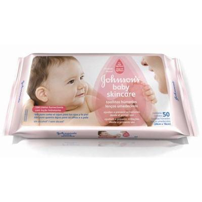 Imagem 6 do produto Toalhas Umedecidas Johnsons Baby Extra Cuidado 48 Unidades -