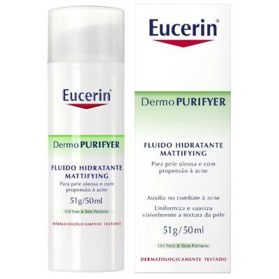 Imagem 1 do produto Fluido Matificante Eucerin Dermo Purifyer Mattifying 50ml