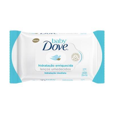 Imagem 3 do produto Kit Dove Dove Baby Hidratação Enriquecida: Lenço Umedecido 50 Unidades + Creme para Assaduras 45g