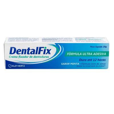 Imagem 1 do produto DentalFix Creme Fixador de Dentaduras Sabor Menta 20g