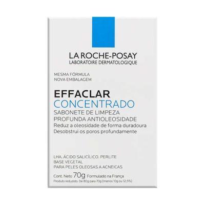 Imagem 1 do produto Effaclar Concentrado La Roche-Posay Sabonete Facial em Barra 70g