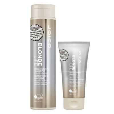Joico Blonde Life Brightening Kit - Máscara + Shampoo - Kit