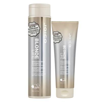 Joico Blonde Life Brightening Kit - Condicionador + Shampoo - Kit