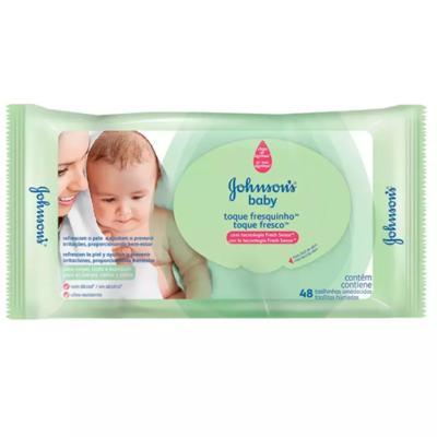 Imagem 2 do produto Kit Johnson Baby Toque Sequinho - Toalhas Umedecidas - 12x48 Un