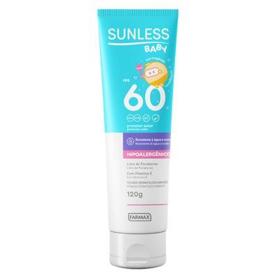 Imagem 1 do produto Protetor Solar FPS 60 Sunless - Baby - 120g