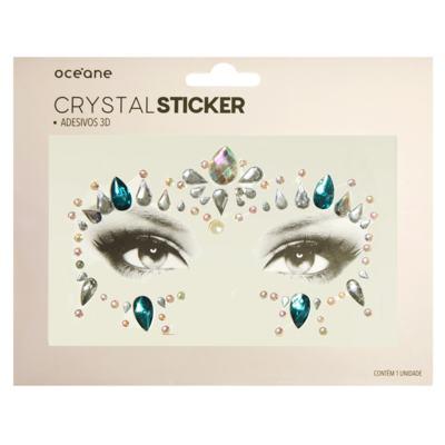 Adesivo Facial Océane - Crystal Sticker 3D S5 - 1 Un