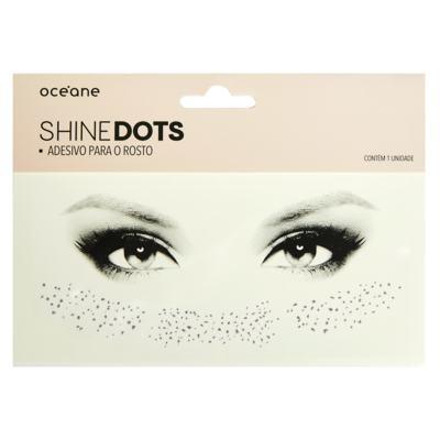 Adesivo para Rosto Océane - Shine Dots Dourado - 1 Un