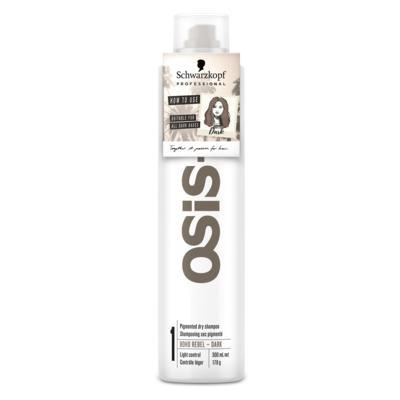 OSiS+ Boho Rebel Schwarzkopf - Shampoo a Seco Cabelo Castanho Escuro - 300ml