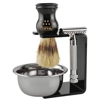 Whal 5 Star Kit - Pincel + Barbear + Tigela - Kit