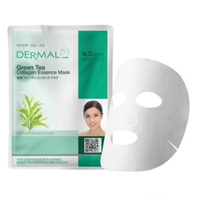 Imagem 1 do produto Máscara Facial Refrescante Dermal - Colágeno com Chá Verde - 23g