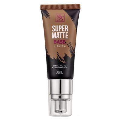 Imagem 1 do produto Base Líquida RK by Kiss - Super Matte - Cacau