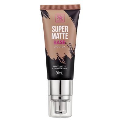 Imagem 1 do produto Base Líquida RK by Kiss - Super Matte - Areia