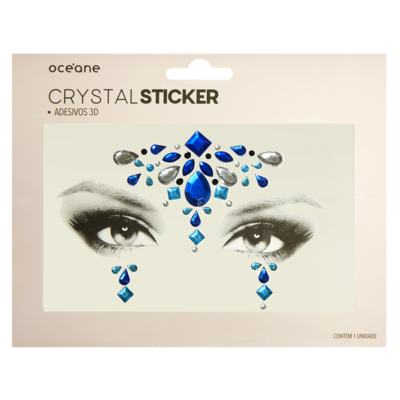 Imagem 1 do produto Adesivo Facial Océane - Crystal Sticker 3D S2 - 1 Un