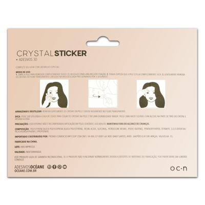 Imagem 2 do produto Adesivo Facial Océane - Crystal Sticker 3D S2 - 1 Un