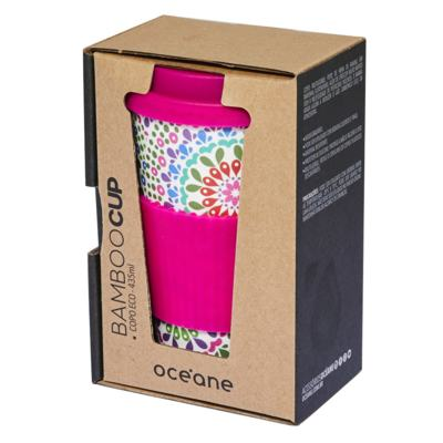 Imagem 2 do produto Copo Eco Océane - Bamboo Cup Mandalas - 1 Un