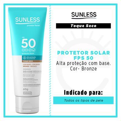 Imagem 4 do produto Protetor Solar Facial com Cor FPS50 Sunless - Bronze