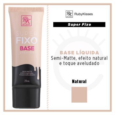 Imagem 4 do produto RK by Kiss Super Fixo Base Líquida - Natural