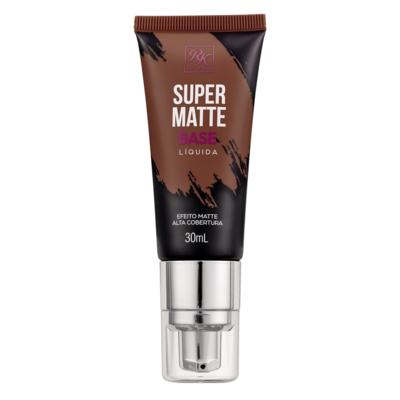 Imagem 1 do produto Base Líquida RK by Kiss - Super Matte - Café