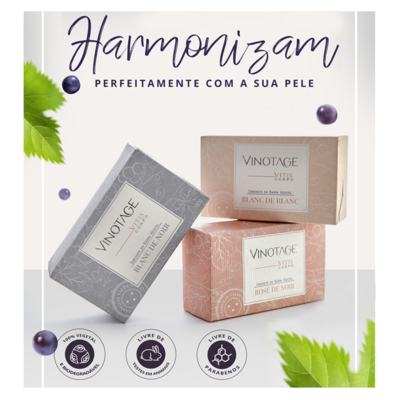 Imagem 2 do produto Blanc de Noir Vinotage - Sabonete em Barra - 180g