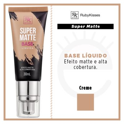 Imagem 4 do produto Base Líquida RK by Kiss - Super Matte - Crème