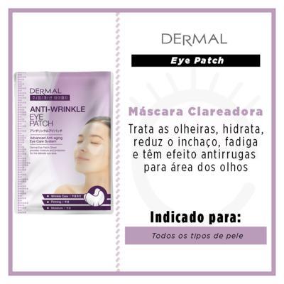 Imagem 3 do produto Máscara para Área dos Olhos Antirrugas com Colágeno Dermal - 6g