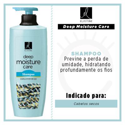 Imagem 2 do produto Elastine Moisture Care - Shampoo Queratina - 400ml