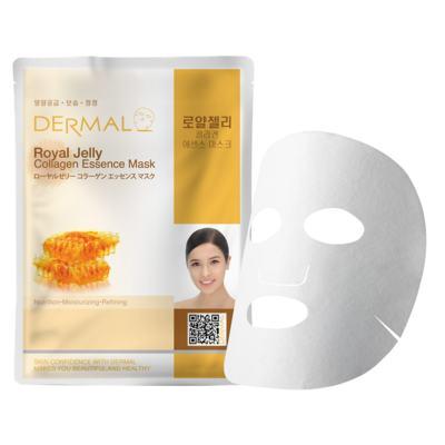Imagem 2 do produto Máscara Facial Antioxidante Dermal - Colágeno com Geléia Real - 23g