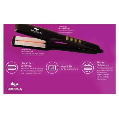 Imagem 3 do produto Prancha Infrared Ceramic Relaxbeauty - Bivolt