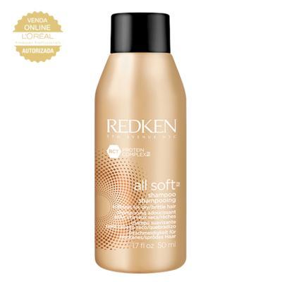 Imagem 1 do produto Redken All Soft Travel Size - Shampoo Hidratante - 50ml