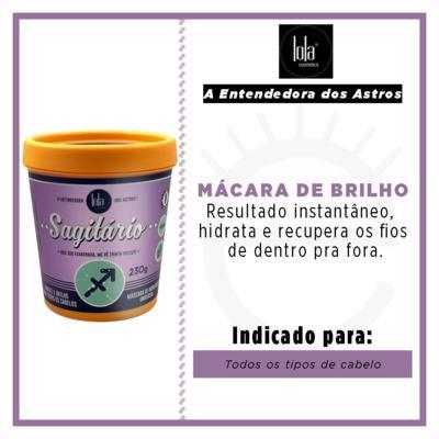 Imagem 2 do produto Lola Cosmetics A Entendedora dos Astros Sagitário - Máscara de Hidratação Universal - 230g