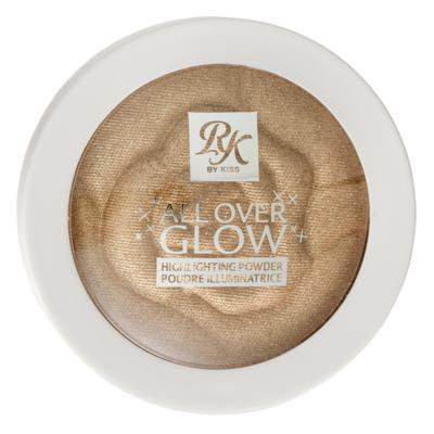 Imagem 1 do produto Pó Facial Iluminador RK by Kiss - All Over Glow - Golden Glow