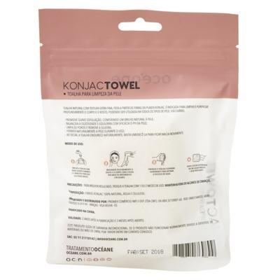 Imagem 3 do produto Toalha para Limpeza da Pele Océane - Konjac - 1 Un