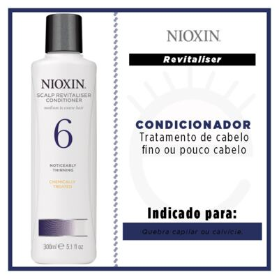 Imagem 2 do produto Nioxin System 6 Scalp Revitaliser -Condicionador - 300ml