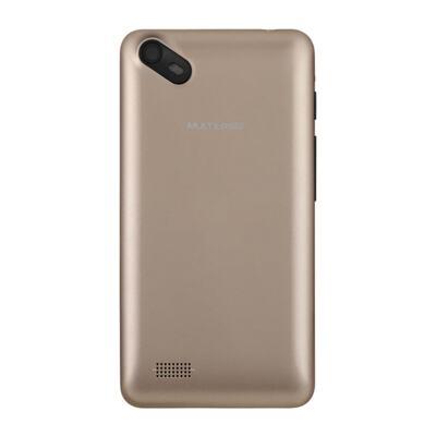 Imagem 3 do produto Smartphone Multilaser MS40S Preto/Dourado 4 Pol. Câmera 2 MP + 5 MP 3G Quad Core 8GB Android 6.0 - NB702 - NB702
