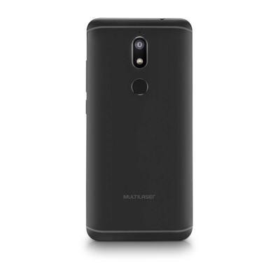 """Imagem 2 do produto Smartphone Multilaser MS80 4GB RAM + 64GB Tela 5,7"""" HD+ Android 7.1 Qualcomm Dual Câmera 20MP+8MP Preto - P9066 - P9066"""