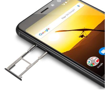 """Imagem 9 do produto Smartphone Multilaser MS80 3GB RAM + 32GB Tela 5,7"""" HD+ 4G Android 7.1 Qualcomm Dual Câmera 20MP+8MP Preto - P9064 - P9064"""