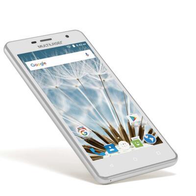 "Imagem 8 do produto Smartphone MS50S 3G tela 5"" dual câmera 5MP+8MP Android 6.0 Multilaser branco - NB263 - NB263"