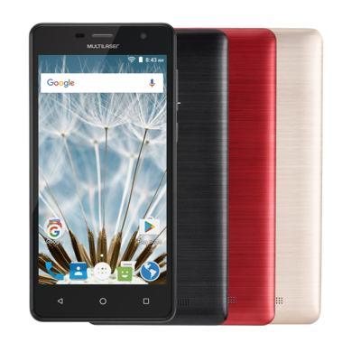 "Imagem 1 do produto Smartphone MS50S Colors 3G Tela IPS de 5"" Android 6 Dual Câmera 5+8MP Multilaser Preto - NB704 - NB704"