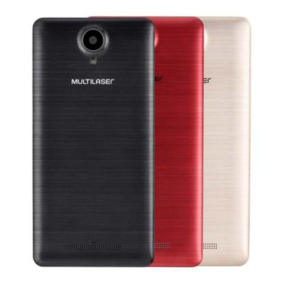 "Imagem 22 do produto Smartphone MS50S Colors 3G Tela IPS de 5"" Android 6 Dual Câmera 5+8MP Multilaser Preto - NB704 - NB704"