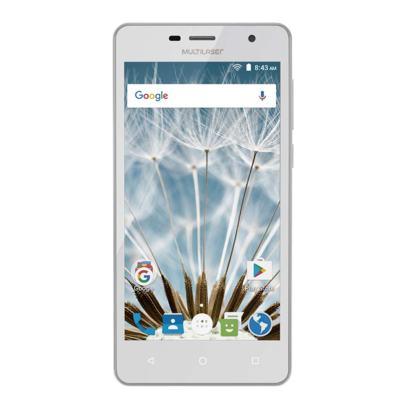 "Smartphone MS50S Colors 3G Tela IPS de 5"" Android 6 Dual Câmera 5+8MP Multilaser Branco - NB705 - NB705"