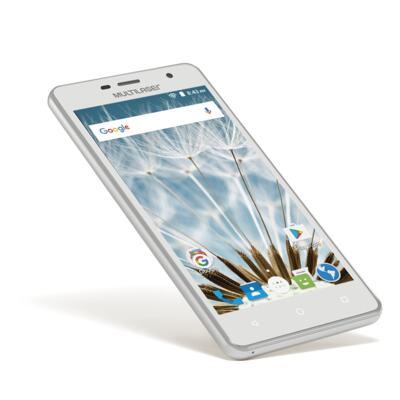 "Imagem 5 do produto Smartphone MS50S Colors 3G Tela IPS de 5"" Android 6 Dual Câmera 5+8MP Multilaser Branco - NB705 - NB705"