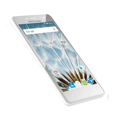 "Imagem 17 do produto Smartphone MS50S Colors 3G Tela IPS de 5"" Android 6 Dual Câmera 5+8MP Multilaser Branco - NB705 - NB705"