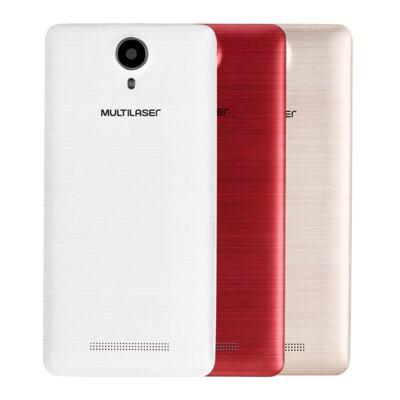 "Imagem 26 do produto Smartphone MS50S Colors 3G Tela IPS de 5"" Android 6 Dual Câmera 5+8MP Multilaser Branco - NB705 - NB705"