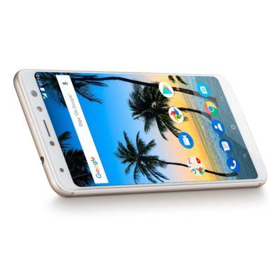 """Imagem 7 do produto Smartphone Multilaser MS80 4GB RAM + 64GB Tela 5,7"""" HD+ Android 7.1 Qualcomm Dual Câmera 20MP+8MP Dourado - P9067 - P9067"""