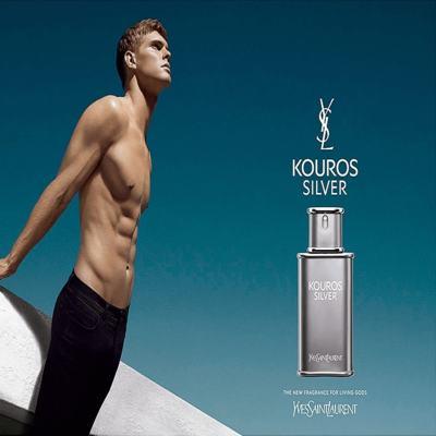 Imagem 5 do produto Kouros Silver Yves Saint Laurent - Perfume Masculino - Eau de Toilette - 50ml