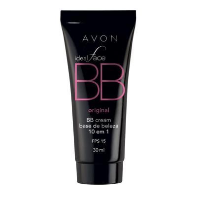 Imagem 1 do produto BB Cream 10 em 1 Avon Ideal Face FPS 15 30ml - BB Cream 10 em 1 Avon Ideal Face FPS 15 30ml - Caramelo