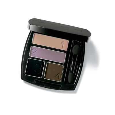 Quarteto de Sombra para Olhos Avon Ultra Color 5g