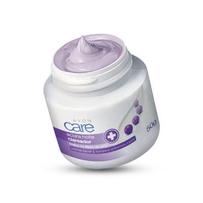 Creme Facial Clareador Care Aclara Noite - 50 g